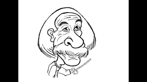 albert einstein doodle practice on ipad by bear cartoon face