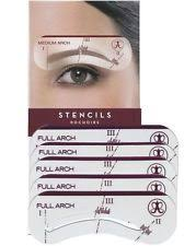 eyebrow stencil kit ebay