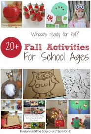 fall activities for after school activities and school