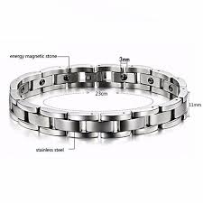 titanium bracelet men images Youniq magnetic titanium steel silve end 4 26 2020 8 16 pm jpg