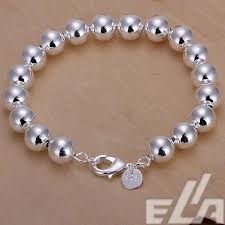 bracelet design beads images 2015 new 925 silver women design chain 10mm beads bracelet jpg