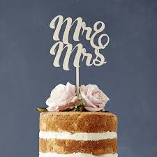 mr and mr cake topper mr and mrs wooden wedding cake topper by