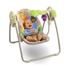 portable baby swing with lights battery swing take along swing portable baby swing