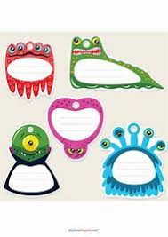 printable monster name tags best 25 ideas about printable name tags find what you ll love