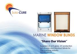 sola cure solar blinds marine systems imtra marine products
