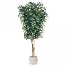 12 foot artificial ficus tree potted gp 12