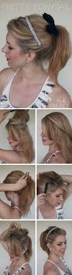 layer hair with ponytail at crown pretty ponytail hairstyle tutorial ponytail tutorial ponytail and