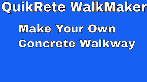 Quikrete Paver Base by Quikrete Walkmaker Make Your Own Brickform Mold Concrete Walkway