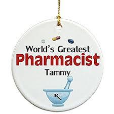 pharmacist polyresin resin ornament