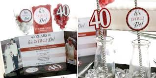 anniversary party favors we still do 40th wedding anniversary bigdotofhappiness