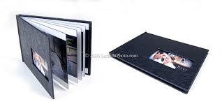 custom leather photo album print custom album