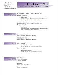 new resume format 2014 free cv templates 191 to 197 free cv template dot org