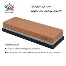 240 u0026800 grit knife sharpening stone combination corundum whetstone