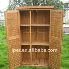 outdoor wood storage cabinets with doors home decoration ideas 7374