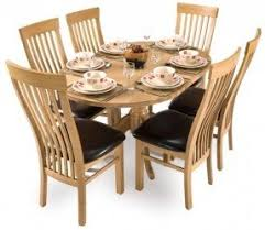 oval oak dining table foter