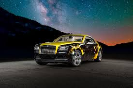 roll royce sport car antonio brown u0027s rolls royce wraith gets a funky paint job
