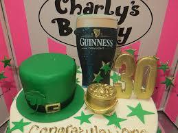 irish themed birthday cake charly u0027s bakery flickr
