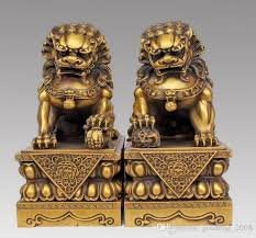 foo dog statues 2018 large pair bronze lion foo dog statue figure
