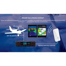 stratus esg ads b transponder certified aircraft ads b out