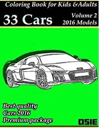 performance cars coloring book cars volume 1 chantim
