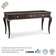 Shabby Chic Console Table Shabby Chic Country Style Black Console Table With Drawers