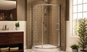 Discount Shower Doors Glass by Shower Cheap Shower Stalls Affinity Shower Frameless Glass