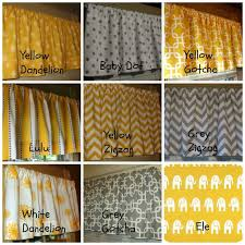 Yellow White Chevron Curtains Curtains Yellow And Gray Grey White Chevron Curtain With Pleasing