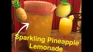 how to make sparkling pineapple lemonade youtube