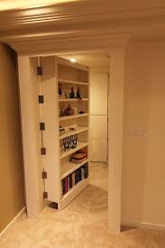 Basement Wood Shelves Plans by Best 25 Hidden Door Bookcase Ideas On Pinterest Bookcase Door