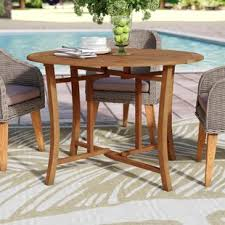 Outdoor Folding Dining Tables Folding Patio Tables You Ll Wayfair