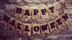 make a simple halloween burlap bunting diy home guidecentral