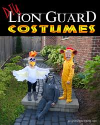 halloween fleece fabric diy lion guard costumes projects in parenting