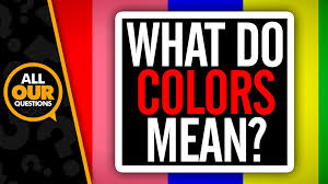 what do colors mean youtube