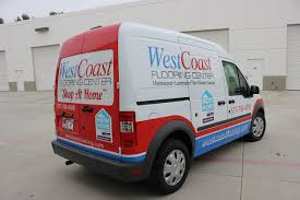 Shop At Home by Vehicle Graphics On Ford Transit Connect For
