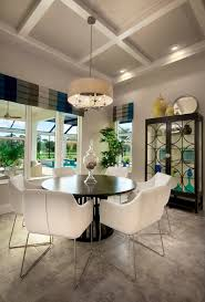 Casual Chandeliers Valences Dining Room Contemporary With Breakfast Nook Cafe Casual