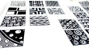20 easy zen tangle patterns youtube