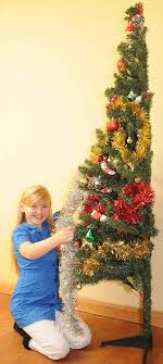 excellent decoration half tree for wall flat back