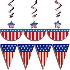 patriotic decorations prextex 4th of july patriotic decorations party pack