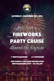 new year s fireworks cruise aboard the bayride the