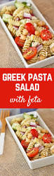 easy pasta salad greek pasta salad with feta and beans rachel cooks