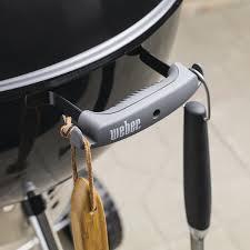 weber original kettle premium 22 inch charcoal grill crimson