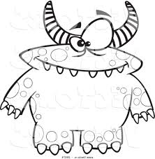 cool monsters coloring pages coloring