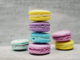 free images color colorful yellow pink macaroon dessert
