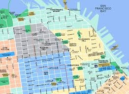 san francisco map for tourist san francisco oakland map tourist attractions travelquaz