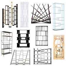 roundup 10 cool modern bookshelves design milk