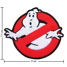 ghost busters logo 1 embroidered iron on patches