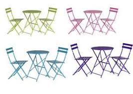 Lime Green Bistro Table And Chairs Supagarden Folding Bistro Set Purple Blue Lime Green Pink