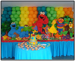 Elmo Centerpieces Ideas by Party Decorations Miami Kids Party Decorations Elmo Birthday