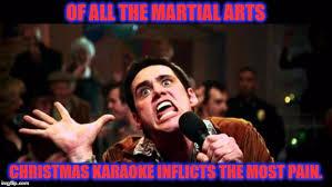 Funny Karaoke Meme - christmas karaoke imgflip