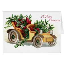 classic car christmas cards invitations greeting u0026 photo cards